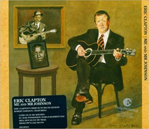 ERIC CLAPTONのCD「ME AND MR. JOHNSON」ジャケット写真